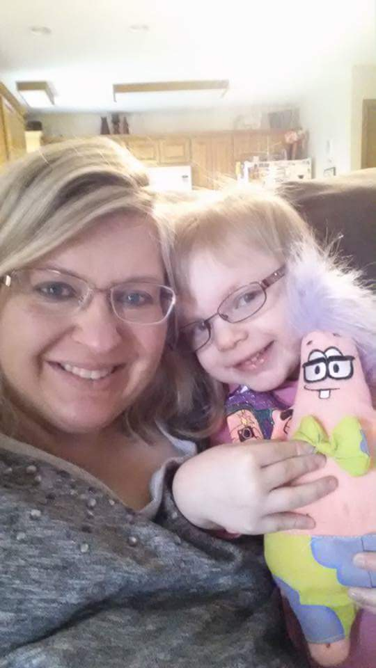 New glasses for Mommy and Tessa