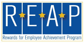 REAP - Rewards for Employee Achievement Program Logo