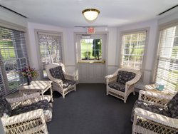 Israel Family Hospice Sunroom