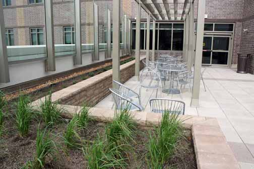 Rooftop Garden Seating