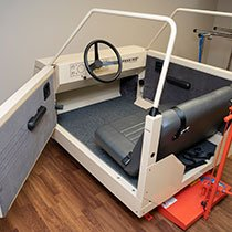 Gifts to the Foundation allowed a car simulator to be purchased for Acute Rehab. Every patient on the 17-bed floor uses this piece of equipment as they prepare to return home.