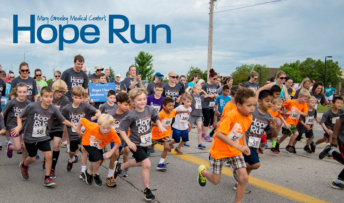 Mary Greeley Medical Center's Hope Run Photo
