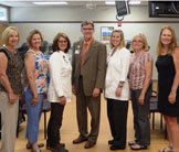 Cardiac Rehab staff receive Grateful Patient Award