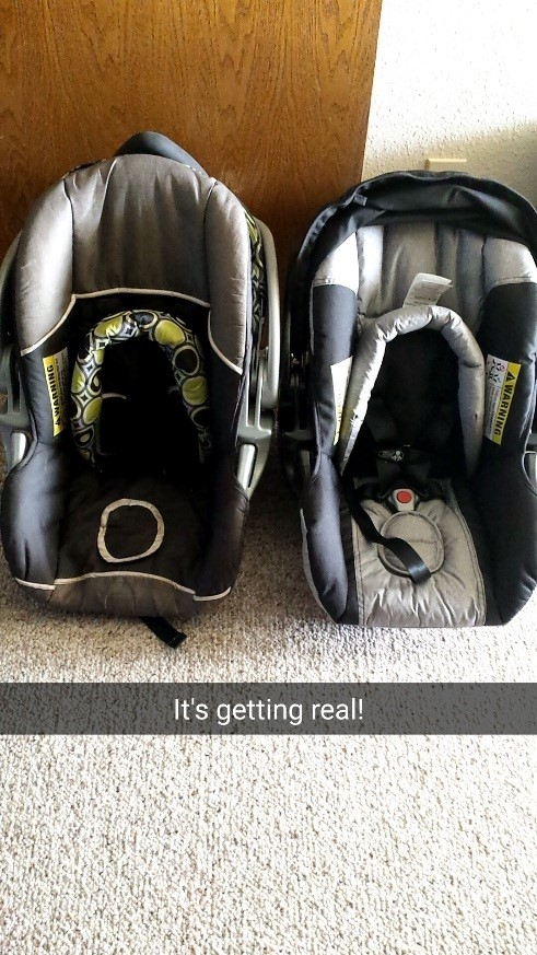 Carseats for the twins