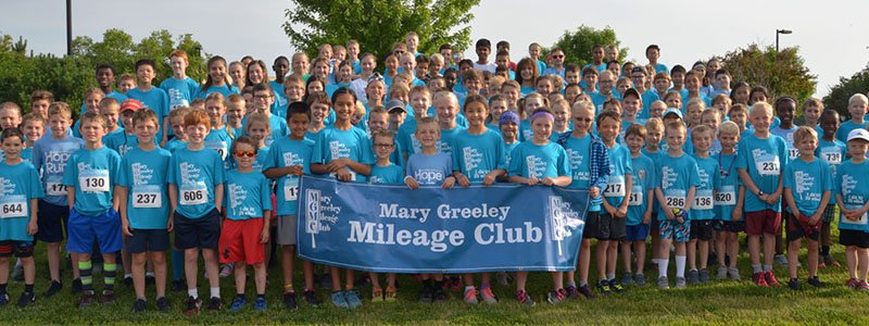 Mileage Club Hope Run Participants