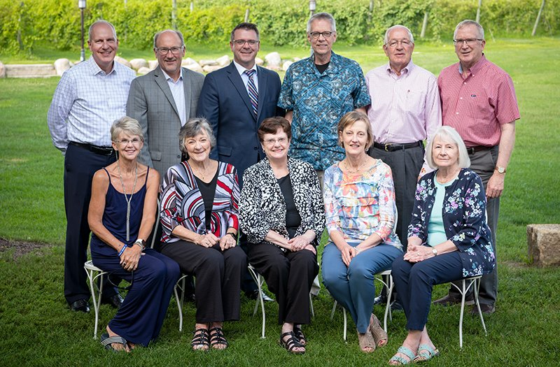 Mary Greeley Foundation Board of Directors Group Photo