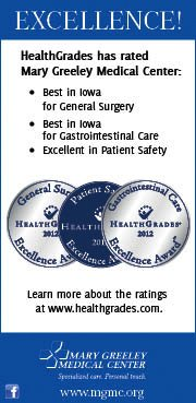 HealthGrades awards for Mary Greeley Medical Center