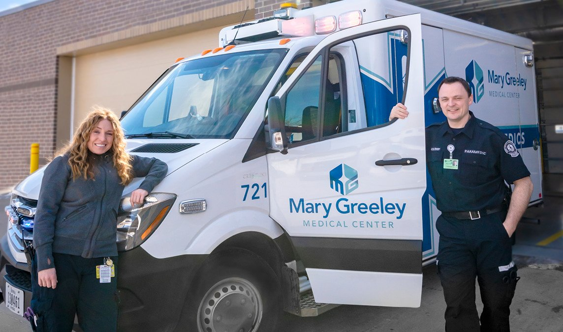 How Mary Greeley Built a Better Ambulance - Health Connect Story Spring 2019