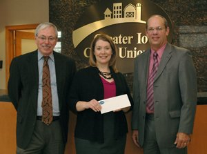 MARY GREELEY MEDICAL CENTER RECEIVES MAJOR GIFT