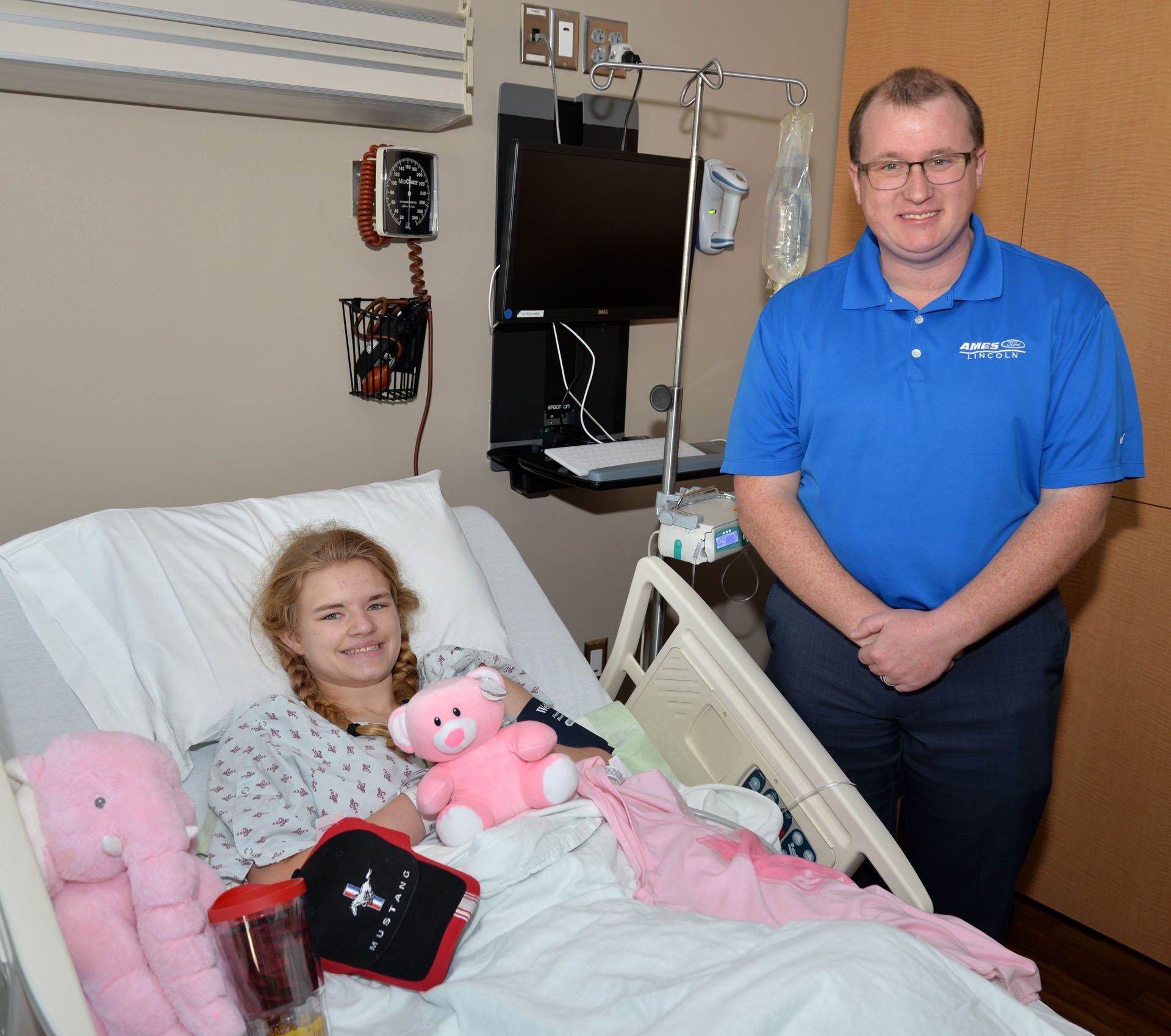 Ames Ford Lincoln Donates To Mary Greeley Pediatrics