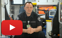 Inside Mary Greeley's New Ambulance - Click image to play YouTube Video