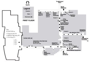 Mary Greeley Medical Center Floor Map