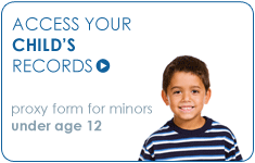Access your child's records.