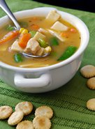 Chicken Noodle Soup with Vegetables