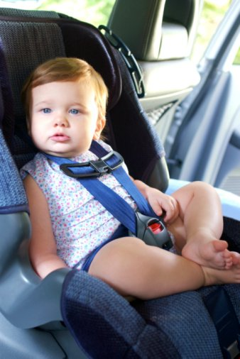 Don't leave kids unattended in a hot vehicle.