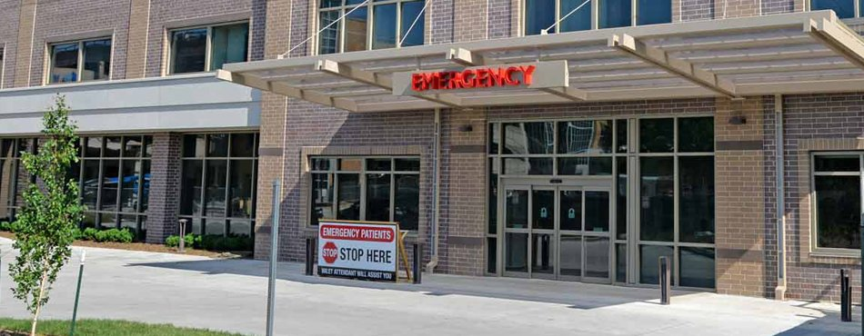 Mary Greeley Medical Center's New Emergency Department Entrance Banner