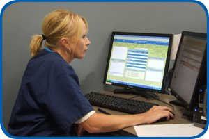Staff access electronic medical records