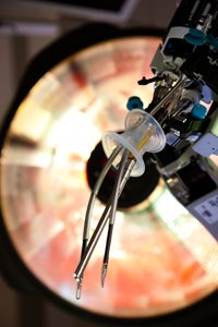 Tiny Robotic Surgery Instruments at Mary Greeley